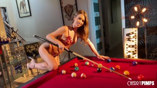 Gorgeous Babe Brunette Jill Kassidy is the Cherry Of The Year Winner